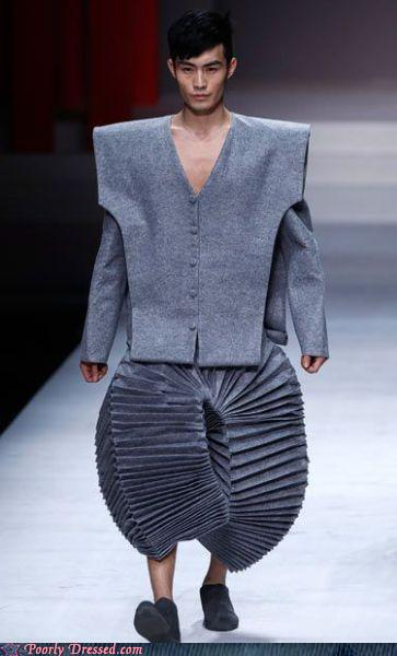 "The ""Accordion Suit"", from Poorly Dressed"