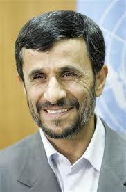 Barmy Mahmoud Ahmedinejad; and,
