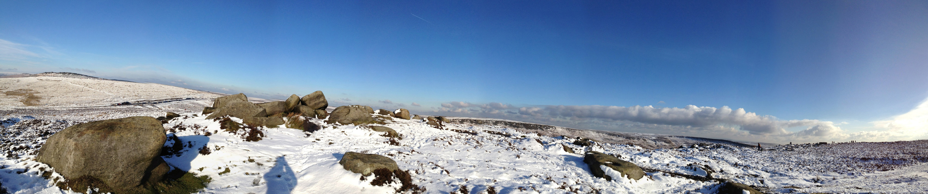 Higger Tor Panorama. Click for larger version.
