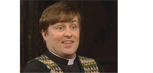 Fake Irish priest Father Dougal McGuire?