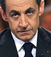 To-be-oustered-in-the-near-future French President Nicholas Sarkozy; and...