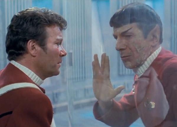 Spock's death in 'Wrath of Khan'